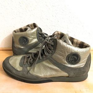 Diesel leather deep shoes size 10.5
